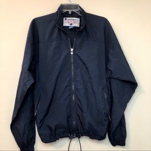 Vintage Champion Navy Windbreaker Jacket